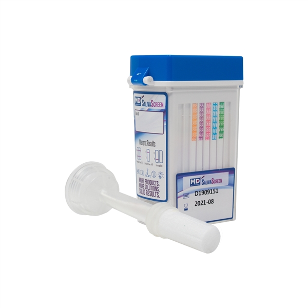 SalivaScreen Oral Fluids - Swab Drug Testing Kit