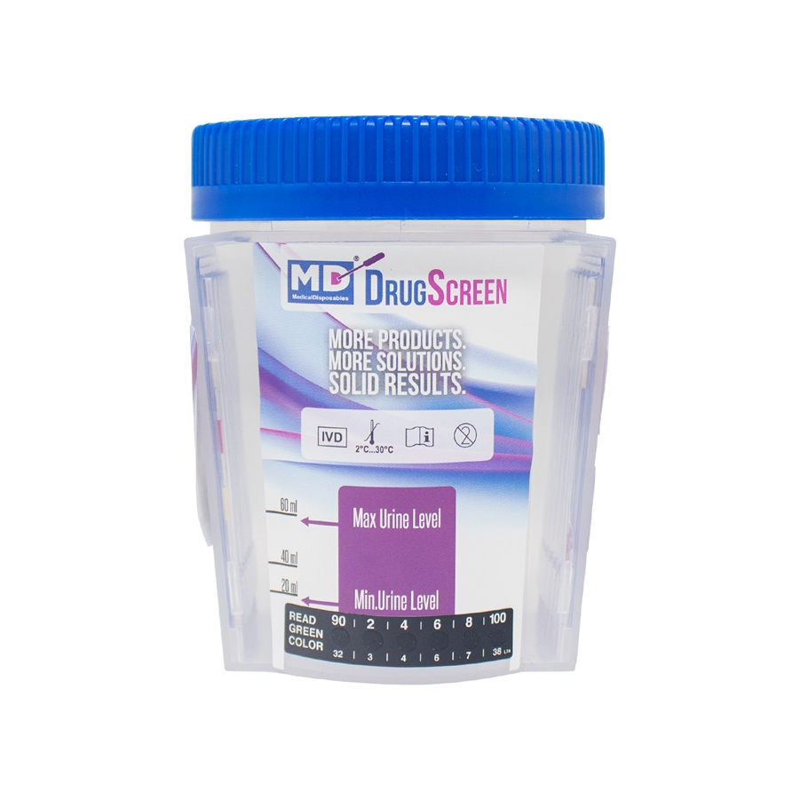MD DrugScreen 12 Panel Test Cup