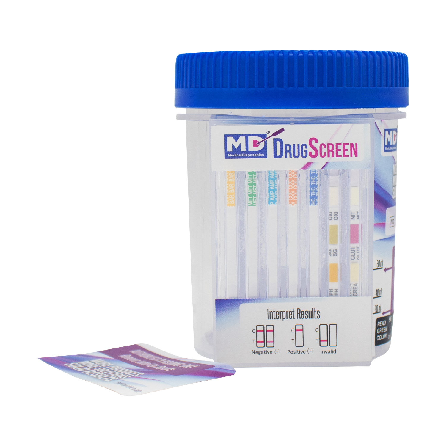MD Customized Drug Test Cup